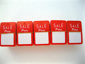 500 Pcs 1 1 4 W X 1 7 8 H Special Price Garment Price Hanging Lables Tags