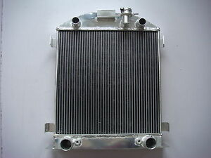 3 Row Aluminum Radiator Ford Model A Flathead Engine 28 29 Core Width 19 Inch