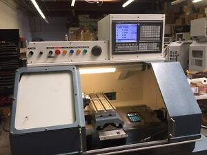 Gt 27 Cnc Gang Tool Lathe Factory Rebuilt With New Gsk 980 Tdi Control
