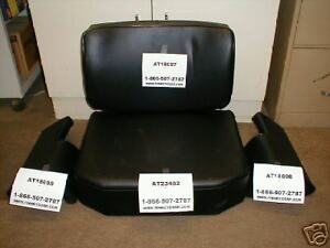 John Deere 350c 450c Dozer Loader Seat Cushion Set Crawler 4 Pc Thick Arm Rests