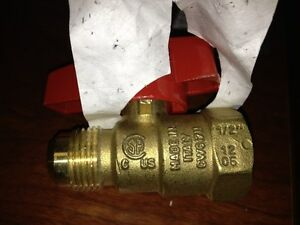 Bugatti Gas Ball Valve 1wme8 Lot Of 20