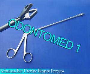 Schumacher Uterine Biopsy Forceps Surgical Instruments