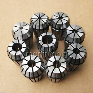 10pcs Er8 Collet Set 1 8 1 0 1 5 2 0 2 5 3 0 3 5 4 0 4 5 5 0mm