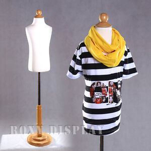 Children Jersey Form Mannequin Manequin Manikin Dress Form Display c3 4t