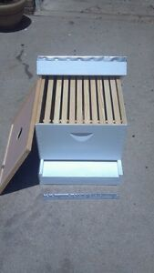 Complete Beehive Kit Assembled painted Ready For Bees