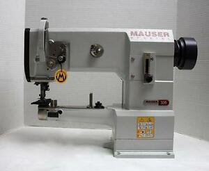Mauser 335g 17 Walking Foot Cylinder Binder Industrial Sewing Machine Head Only