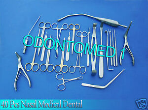 Nasal Set Of 40 Instruments Surgical Ent Medical Dental Ds 946