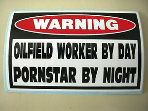 Funny Oil Field Well Rig Drill Derrick Worker Hardhat Tool Box Sticker Decal 792
