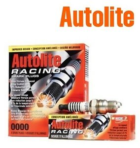 Autolite Racing Hi performance Spark Plugs Ar53 Set Of 4