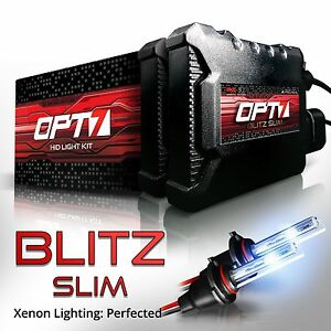 Opt7 35w Slim Hid Kit 9006 9007 H1 H4 H7 H10 H11 H13 All Colors Xenon Light