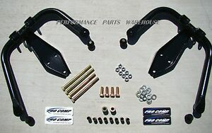 Pro Comp Dual Shock Hoops 99 04 F250 F350 Excursion 4x4 Lift