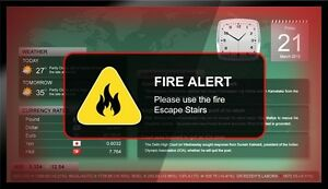 Digital Signage Warning Signs In Schools And Universities
