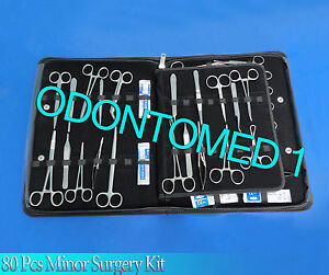 80 Pcs Minor Surgery Surgical Instrument Kit