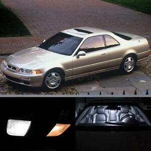 13x Interior Lights Package White Led Bulbs For 1991 1995 Acura Legend Coupe