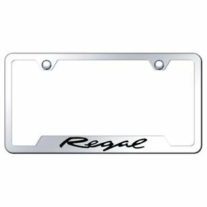 Buick Regal Mirrored Chrome Stainless Steel License Plate Frame