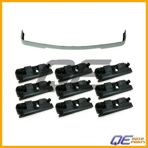 Bmw E30 Valance Spoiler is Style Front Lower Trim 10 Clips