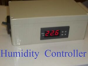 Plug Play Humidistat Control Switch Relative Humidity Hygrometer Controller