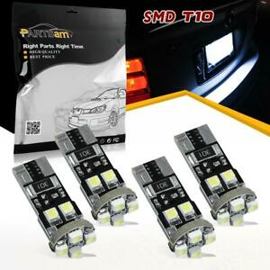 4x Error Free Angel Eyes Led Lights Bulbs For Bmw E60 Pre Lci