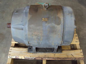 Ge General Electric Motor 30hp 460 Volts 3 Phase Frame 326 Tsc 1180 Rpm 41 Amps
