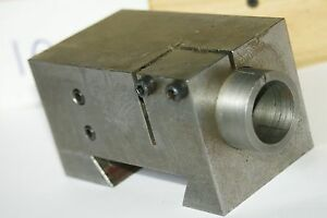 Screw Machine Dovetail Shaving Tool Holder 1 1 2 Bore Mounting Acme Gridley W s