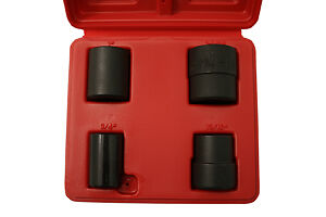 Cta Manufacturing A154 4 Pc Emergency Lug Nut Remover Socket Set