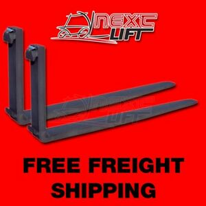 New Class Iv 4 8 Ft Forks 2 5 X 6 X 96 pair Forklift Fork Foot