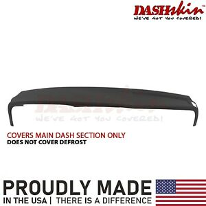 Dash Cover Skin Overlay 02 03 04 05 Dodge Ram Front Dash Section Black