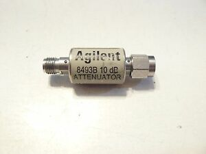 Agilent Hp 10db Dc To 18ghz Coaxial Fixed Attenuator Sma Male Female