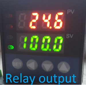 Pid Programmable Temperature Controller Ramp Soak Kiln 60 Set Point Relay Output