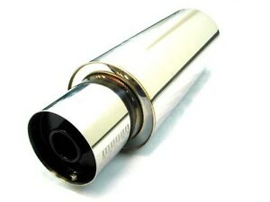 Megan Racing Universal Exhaust Muffler N1 Style 4 0 Tips 2 5 W Silencer