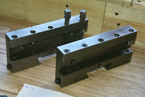 2 X Warner Swasey M 3076 Dovetail Tool Holder Carbide Screw Machine Automatic