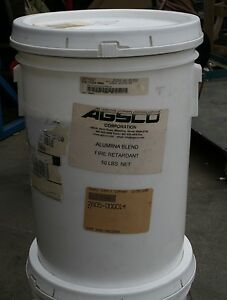 Agsco Alumina Fire Retardant Aluminum Oxide Powder Blend 50 Lb