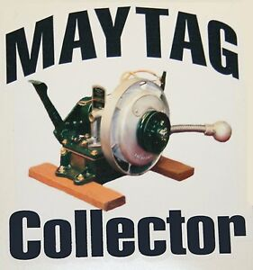 Maytag Gas Engine Model 92 72 82 Upright Collector Large Decal Hit Miss Motor