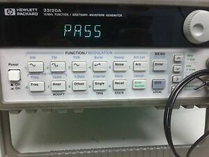 Hp agilent 33120a Function Arbitrary Waveform Generator