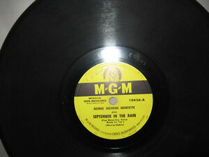 George Shearing Ill Remember April Jumping With Symphony Sid Mgm 10687