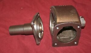 Maytag Gas Engine Motor Model 92 Crank Case Rebuilt Bearings Hit