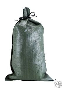 100 14 x26 Empty Poly Sandbags For Sale Poly Bags Sandbag Empty Military