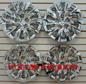 New 2012 2014 Toyota Camry 16 Hubcaps Wheelcover Chrome Set