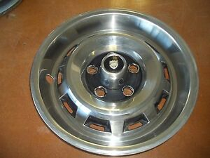 80 81 82 83 84 85 Jaguar Xj6 Xj12 Hubcap Rim Wheel Cover Hub Cap 15 Oem Used