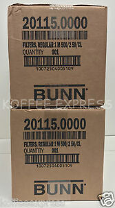 Bunn 2000 Paper Regular Coffee Filter For 12 cup Commercial Brewers