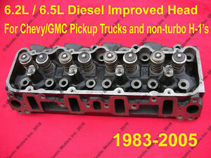 6 5 6 2 Diesel Cylinder Head New Improved Castings Chevy Gmc 2500 3500