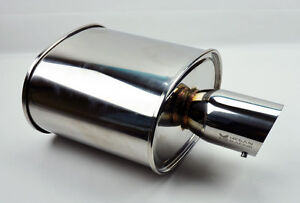Megan Racing Universal Exhaust Muffler 2 5 Oval Style Mr Mu Moe