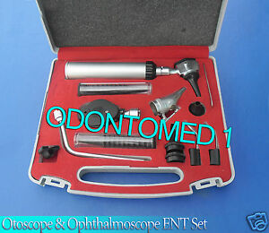 Otoscope Ophthalmoscope Set Ent Surgical Instruments Nt 902