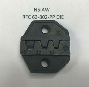 Die Set For Crimping 15 30 45 Amp Anderson Power Pole Type Similar Connectors