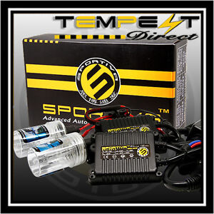 Hid Xenon 35w Ac Digital Slim Conversion Kit For Low Fog Or High Beams Sportiva
