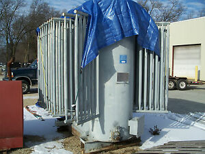 2000kva 2000 Kva Oil Filled Transformer Case Tank Shell 26400v 480y 277v Storage