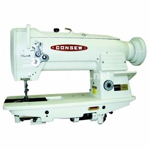 Consew 255rb 3 Industrial Walking Foot Machine With 3 4 Hp Servo Motor