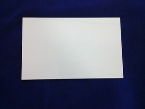 50 Laser Cut White Acrylic Sign Blanks