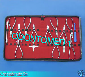 15 Pieces Orthodontic Kit Surgical Dental Instruments