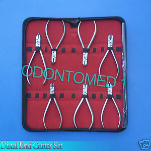 7 Pcs Tc Distal End Cutter Kit Orthodontic Dental Instruments